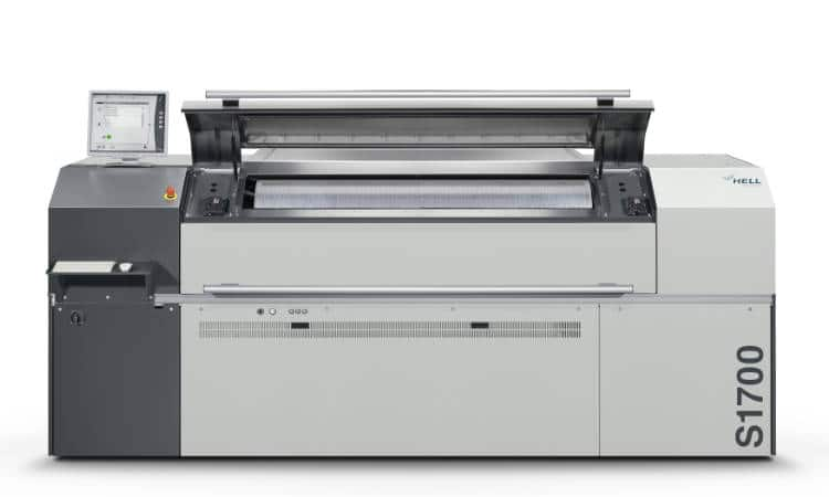Premiumsetter S1700 – HELL Gravure Systems