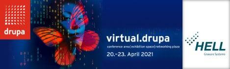 HELL präsentiert aktuelle Neuentwicklungen während der virtuellen Drupa vom 20. bis 23. April 2021